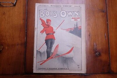 BOYS OWN PAPER: 9 issues from 1911