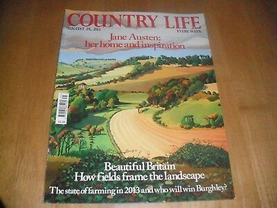 Country Life August 28 2013 (Jane Austen: Home & Inspiration)