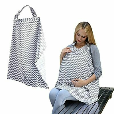 Cotton Outdoor Mother Feeding Maternity Breast Nursing Pads Covers Apron Shawl A