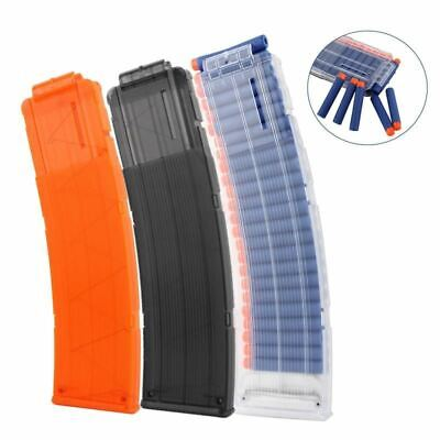 5-22 Reload Clip For Nerf Magazine Round Darts Replacement Toy Gun Soft Bullet C