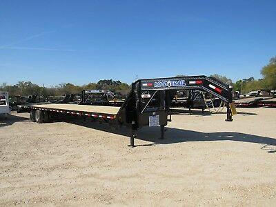 40' Gooseneck Deckover--2/15 K--Axles-- Air Ride--Load Trail--25,900 Gvwr--New