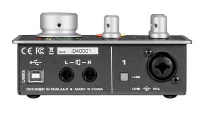 Audient iD4 2in/2out High Performance USB Audio Interface