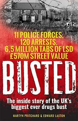 BUSTED by EDWARD LAXTON New Paperback Book