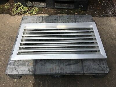 Aluminium Vent Cover With Rodent Screen 880 mm x 480 mm