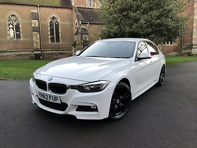 2012 Bmw 318d M Sport White Fsh Immaculate F30 320d 9 900 00