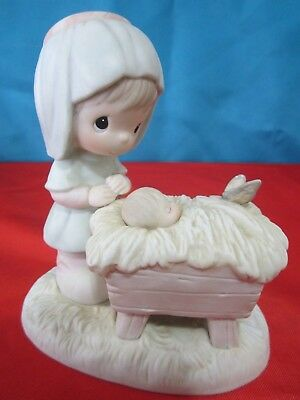 Precious Moments: A Monarch Is Born  Porcelain Figurine -1984- E5380 $19.99