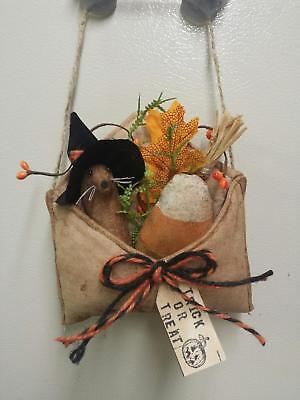 Primitive Envelope/Halloween/Witch/Candy Corn/Grunged