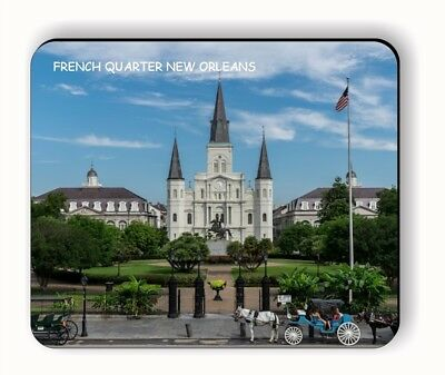FRENCH QUARTER NEW ORLEANS MOUSE PAD -aun7Z