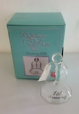1St Anniversary Bell  Reflections Of Love By Russ Brand New
