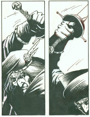 Tim Truman, Grimjack page 5 from Starslayer 14, Buried Past part 3, NO RESERVE!