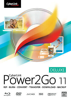 CyberLink Power2Go 11 Deluxe - Fast Digital Delivery - Download Product - ESD