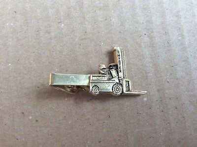1960s  Hyster fork life, promotional sales personal tie bar.