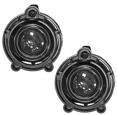 Pair Fog Light Lamps For Buick Cadillac Chevrolet Gmc Oe# 10335108 22830038