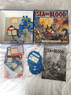 Games Workshop Sea of Blood Box and Man O War Cards, Rules Assorted