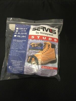 Servus Anti-Slip Undershoe Tungsten Carbide Studs - SR101 - XL - Made In USA!