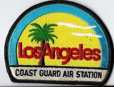 United States Coast Guard USCG patch Los Angeles Air Station 3X3-7/8 in #265