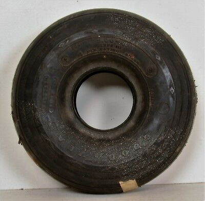 Goodyear Aircraft Rib 5.00-4 Type III 4 Ply 2661 206191-17KV Airplane Tire Wheel
