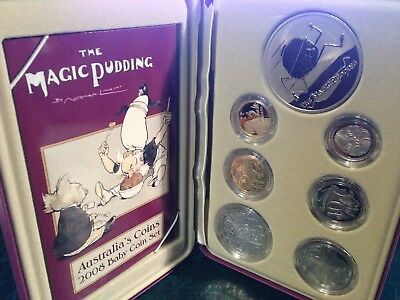 2008 The Magic Pudding Baby Coin Proof Set
