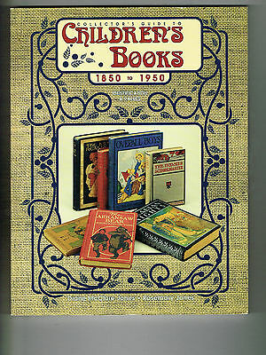 Children's Books Collector's Guide 1850-1950 Ident & Values 1997 Nm-
