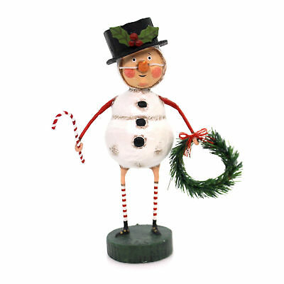 LORI MITCHELL ~ Chilly Willy ~ Snowman Child Christmas Figure ~ Free Shipping