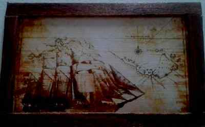 Dolls House An ancient Pirate Map