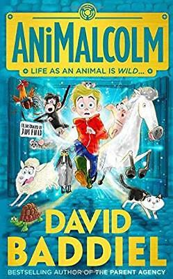 AniMalcolm by David Baddiel New Paperback Book
