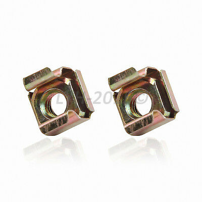 M5 M6 Cage Nuts - Color Zinc Plated Steel