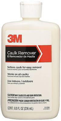 New! 3M Caulk Remover 8 oz. Liquid Indoor and Outdoor Use Concentrated 2153