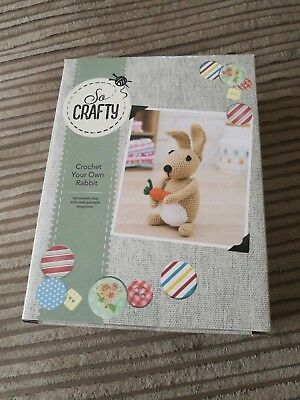 Aldi So Crafty Complete Crochet Kit Rabbit With Carrot Brand New