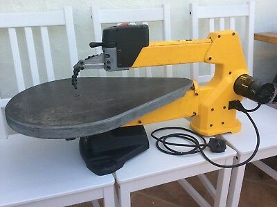 DeWalt DW788-GB Variable Speed Scroll Saw Yellow Pre-Owned Good Working Order