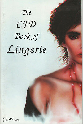 Cfd Book Of Lingerie Summer 1994 Edition Nm+ Creative Force Designs