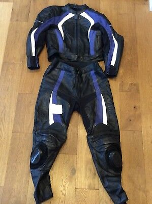 Lookwell 2 Piece Motorcycle Leathers Size 52/42 L Available Worldwide