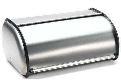 NEW Double Loaf Brushed Stainless Steel Bread Box Large Size, Nice High Quality