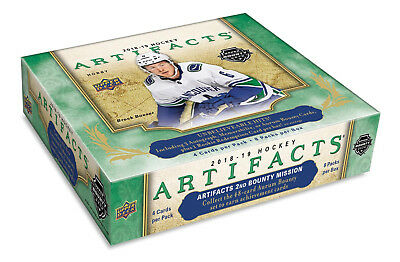 2018-19 Upper Deck Artifacts Hockey Hobby Box New/Sealed NOW SHIPPING