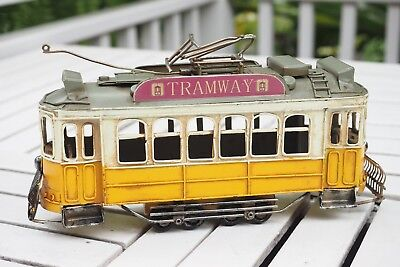 Toy Collection Model Streetcar Tram 1:43 metal lights sound