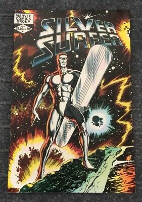 Silver Surfer #1 (June 1982, Marvel) Mephisto BYRNE ART