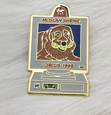 Moslah Shrine Circus 1999 Pin Fraternal Mason Masonic Shriner Fort Worth Texas