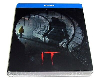 It Blu-Ray Steelbook Limited Edition Import Rare Horror Movie New!