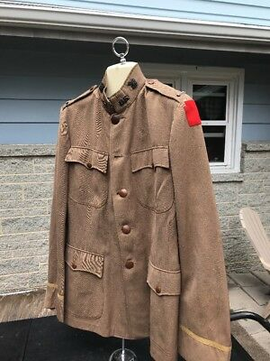 WW1 US 28th Infantry Division Officers Uniform Private Purchase (A309