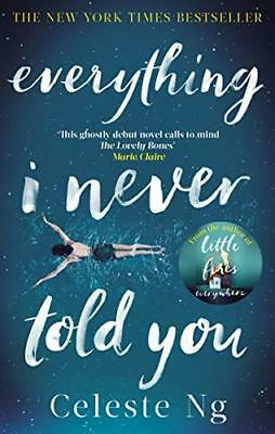 Everything I Never Told You by Celeste Ng New Paperback Book