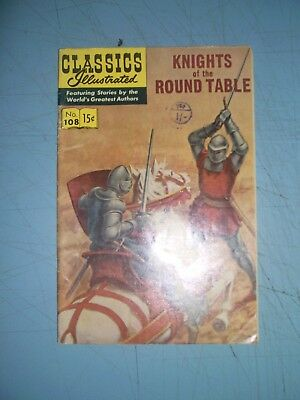 Classics Illustrated 108 Knights of the Round Table 1964 HRN 167