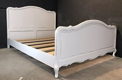 Vintage French King size bed/ Painted French bed (VB161)