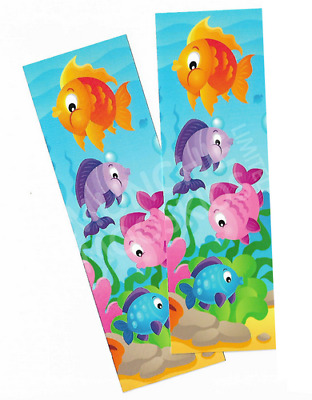 Under The Sea Bookmarks Book Reading School Party Bag Fillers Pack Sizes 6 - 48