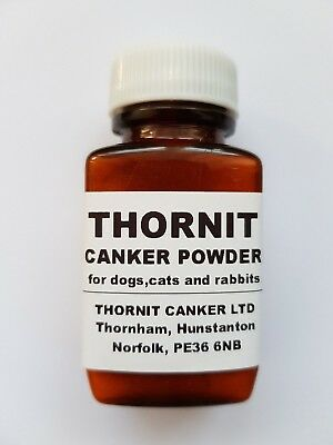 Thornit Canker Powder - The Original Ear Mite Treatment For Dogs, Cats & Rabbits
