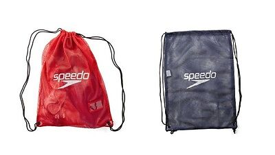 Official SPEEDO Mesh Equipment Swim gear Bag Swimming Gym Wet Kit