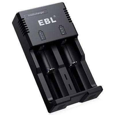 EBL Intellicharger With iQuick Technology Individual Battery Charger Quick Ch...