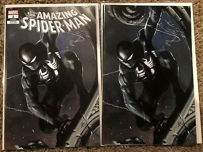 Amazing Spider-Man 1 Lgy 802 Dell Otto Variant  Set! KRS SDCC Convention Ex!
