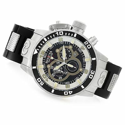 17927 Invicta 52mm Corduba Sea Base Edition Quartz Chronograph Bracelet Watch