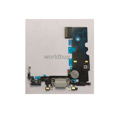 iPhone 8 Charging Port - Replacement Charger Flex Cable White USB Dock Mic