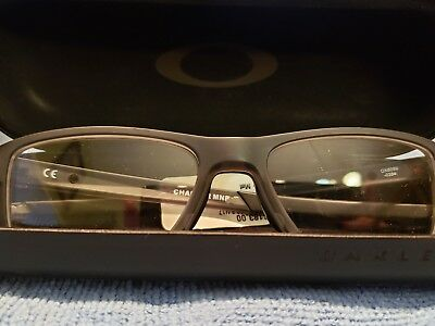 d6c0bb2941 Oakley Chamfer MNP OX8089-0354 Eyeglass Frames Transparent Grey 54 17 140  New